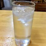 田子作 - 芋焼酎水割り