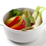 ダンスキューブ・カフェ - 自家製-彩り野菜のピクルス