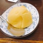 相撲料理 ちゃんこ成山 - デザート