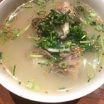 めいげつ - テールスープ