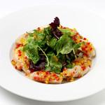 ダンスキューブ・カフェ - 大山鶏胸肉の塩麹低温ロティ-ラヴィゴットソース
