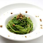 ダンスキューブ・カフェ - 旬野菜のクリームスパゲッティーニ