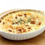 ダンスキューブ・カフェ - フズィッリと季節野菜の豆乳グラタン
