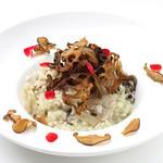 ダンスキューブ・カフェ - 大山鶏と旬菜の玄米リゾット