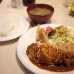きせん - 料理写真:チキンチーズカツ