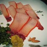 魚料理 吉成 - 鯨ベーコン