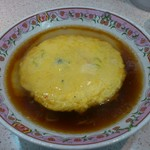 餃子の王将 - 天津麺です。(2017年1月)