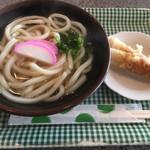 きたばやし - 料理写真:かけうどんヽ(*´∀`)190円