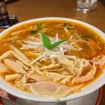 三代目 仔虎 - 料理写真:酸辣湯麺