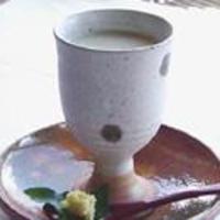 フラワリッシュ - 玄米甘酒(豆乳割り)