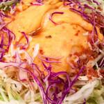 酒と肴 じん - キャベツのサラダ。