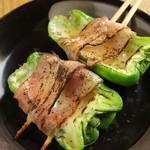 東京渋谷 炭火串焼 鳥横 - チーズピー
