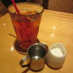 CAFE FREDY - セットのアイスティー
