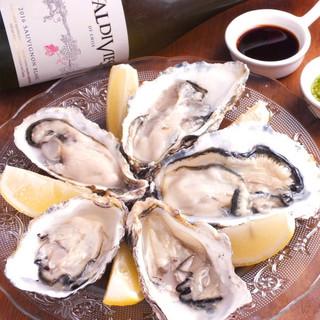 産地直送!季節ごとに旬な地域から仕入れるフレッシュな牡蠣