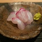 ぎをん 遠藤 - 明石鯛