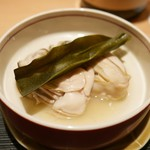 ぎをん 遠藤 - 蒸牡蠣
