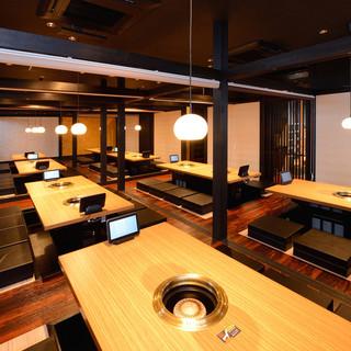 ◆豊富な座敷・個室◆ご用意しております!各種集まりに最適♪