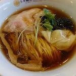 らぁ麺屋 飯田商店 - わんたん入り醤油らぁ麺 1100円