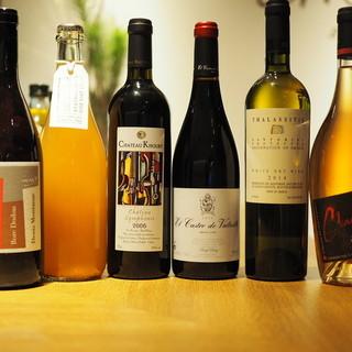 お手頃価格のグラスワイン