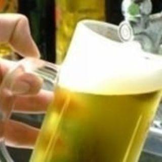 月曜日生ビール半額!!