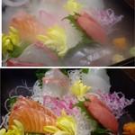 俺の魚を食ってみろ!! - ◆ドライアイスが消えると下の写真の状態に