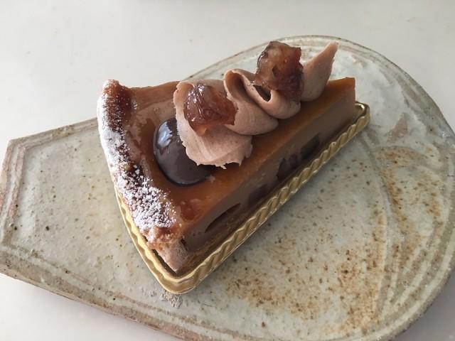 パティシエ シマ - 栗のケーキ