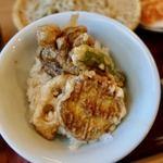 石碾蕎麦 おもだか - 小天丼 +450円