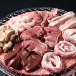 炭火ホルモン焼肉 えい豚 -