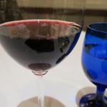 ラ・プリマ - ドリンク写真:お昼から赤ワイン~いいね