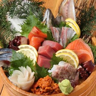毎日買い付け!新鮮な魚貝!