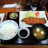ラグビー - 料理写真:2017年1月8日(日) ロースカツ定食(850円)