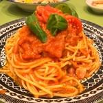 パステルイタリアーナ - フルーツトマトの絶品トマトソース