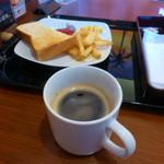 快活CLUB - 料理写真:コーヒーと0円モーニング