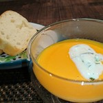 リッチ - 人参スープ&自家製パン