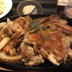 61692591 - ご飯2杯はいけるお肉の量。