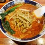 支那麺 はしご - 搾菜担々麺\850(17-01)