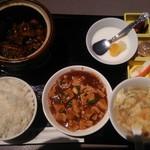 61696672 - ランチ 牛スジと牛肉の壺煮+豆腐煮込み
