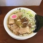 61699169 - 170125中華そば650円平打ち麺、サービス味玉