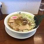 61699170 - 170125中華そば650円平打ち麺、サービス味玉