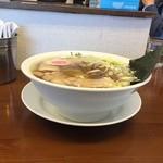 61699171 - 170125中華そば650円平打ち麺、サービス味玉