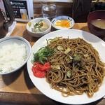 61699552 - 「焼きそば(ダブル)定食」(500円税抜)(2017年1月)