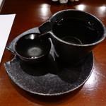 釣人料理 ほっぺち - 星自慢 特別純米 無濾過原酒
