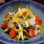 釣人料理 ほっぺち - 野菜サラダ