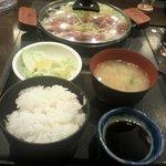肉屋の正直な食堂 - 『生姜焼き定食』 850円 01