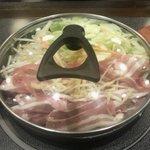 肉屋の正直な食堂 - 『生姜焼き定食』 850円 02