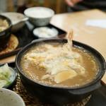 麺処 龍 - 天ぷら入りがシブい!!