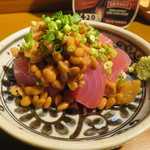 Smile Kitchen でれすけ - まぐろ納豆