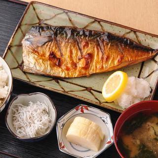 魚はもちろん、お米にも、お味噌にもこだわりを