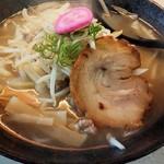 ラーメンさんぱち - 料理写真:炙り塩ラーメン