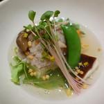 GRAN - 鯛と野菜のレンコン蒸し